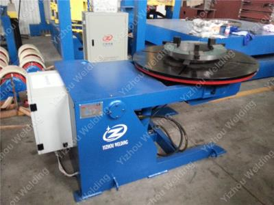 Hydraulic lift welding positioner
